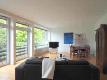 Spitzenlage in Oberkassel! Hochwertige Wohnung am Rhein mit Einbauküche, 40545 Düsseldorf, Etagenwohnung zur Miete