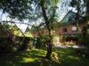 Wohnungsqualität für Familien! Sehr großzügiges Reiheneckhaus auf der Dorfstraße - Gartenansicht
