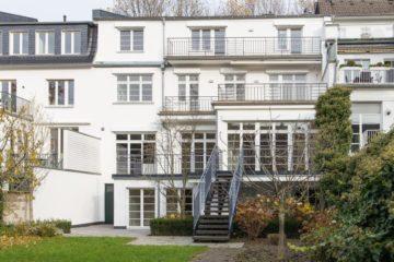 Mehr geht nicht- Luxuriöses Wohnen in bester Lage!  Elegante Stadtvilla in Düsseldorf-Oberkassel, 40545 Düsseldorf, Einfamilienhaus zur Miete