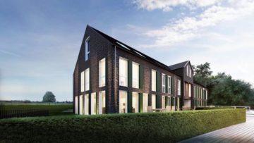 GRÜNE IDYLLE VOR DER STADT  Traumhaftes Einfamilienhaus im einzigartigen Neubau-Vierkanthof, 41564 Kaarst, Reihenendhaus zum Kauf