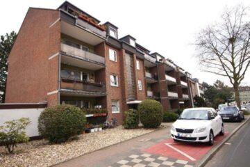 Ideal zentral – mit WBS: 2-Zimmer-Wohnung mit Balkon, 40472 Düsseldorf, Etagenwohnung zur Miete