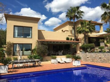 IBIZA- Luxus Villa in exponierter Lage von Can Furnet!, 07840 Can Furnet (Spanien), Einfamilienhaus
